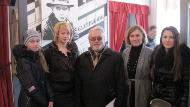 З поетом Степаном Бабієм